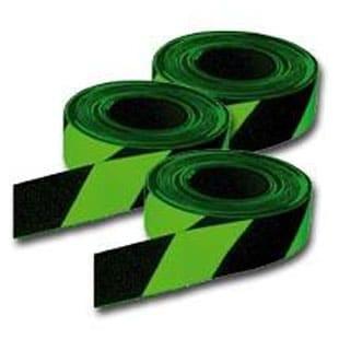 Medium Duty Anti-Slip Tape Luminous/Black Diagonal E3400LB