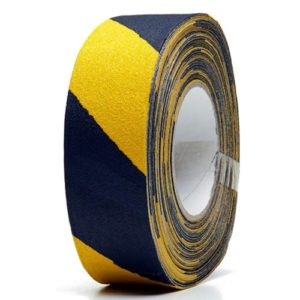 Medium Duty Anti-Slip Tape Black/ Yellow