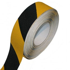 Conformable Heavy Duty Anti-Slip Tape - Black/Yellow