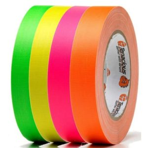 Matt Fluorescent Cloth Tape FL166