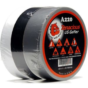 "Retail Ready - High quality USA Waterproof Cloth ""Gaffer"" Tape"